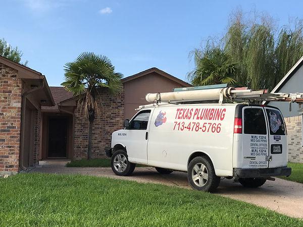 Texas Plumbing Van
