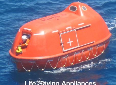 Life-Saving Appliances - What to Check?