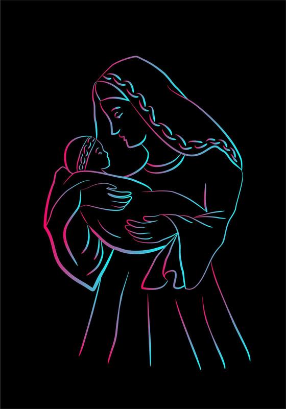 Mary – a mother's journey - Luke 1:26–38.