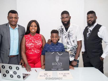 Rocky Fashion signs new Star Ambassador.