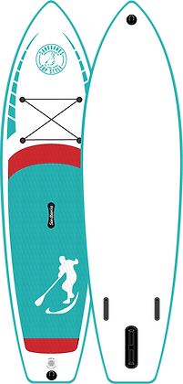 Ultimate Turquoise: 10'6'' x 32'' x 6''