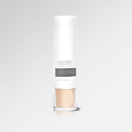 Triple Antioxidant Mineral Powder Sunscreen SPF 50