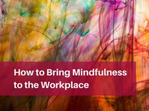 Mindfulness taster course