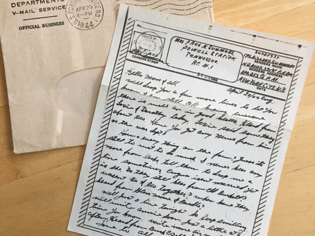 Letters from the Front, Part 3