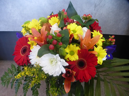 Bouquet rougissant