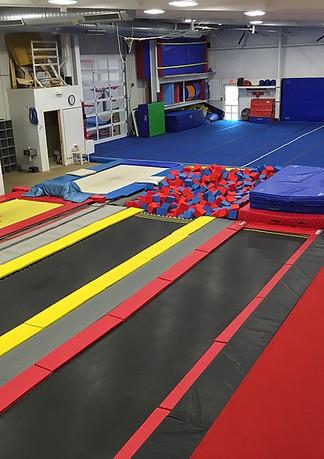 Trampoline & Tumbling Gym