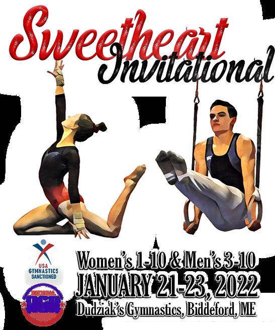 Sweetheart invitationaI 2022 Postcard tr