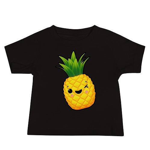 Baby Jersey Short Sleeve Tee - Pineapple
