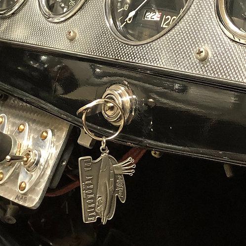 "Ida Automotive ""Tucker Lives"" Key Chain"