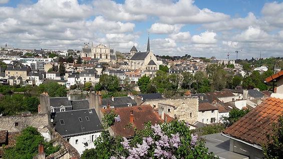 Vie générale de Poitiers par l'Est