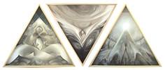 'Cosmic Revelation 1, 2, and 3'  (2010)