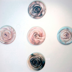 Heart Rose Installation