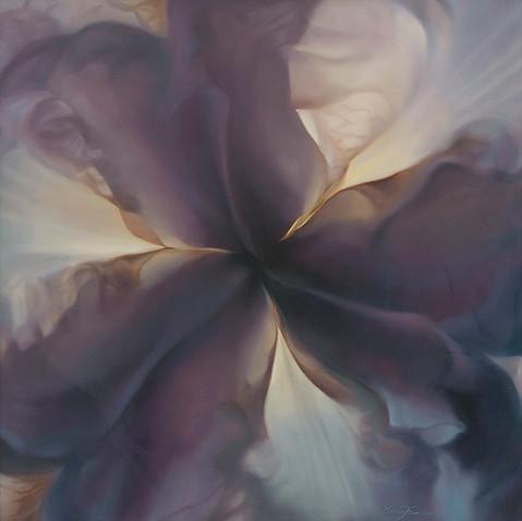 Blue Iris Mandala