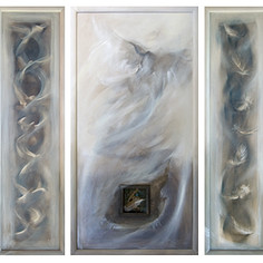 'Legacy Triptych' SOLD