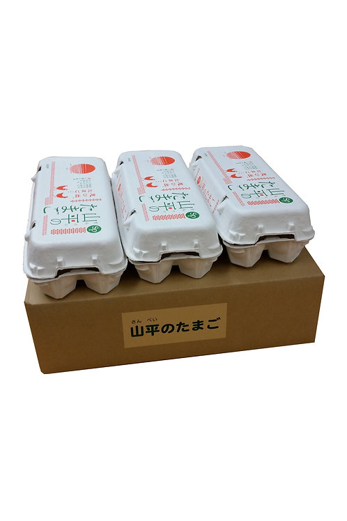 【中国地区限定】山平のたまご30個入り進物箱