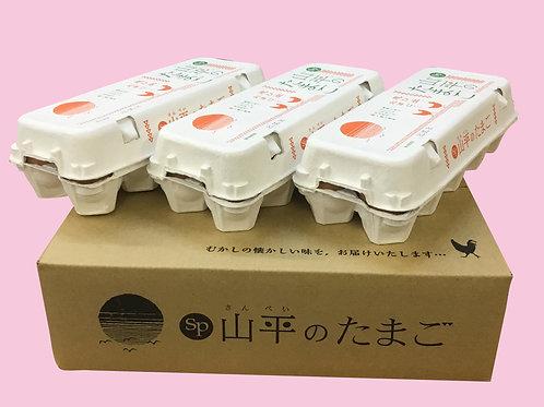 【福岡県内限定】山平のたまご30個入り進物箱