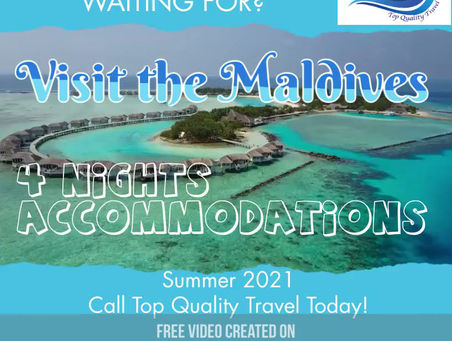 Visit The Maldives!