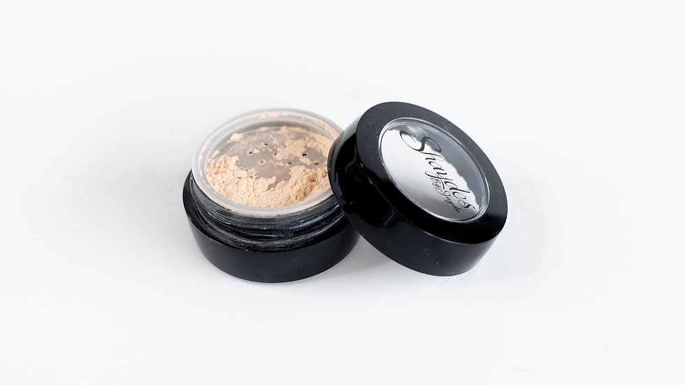 Translucent setting powder