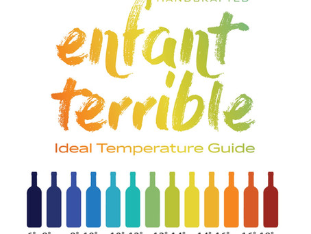 ET Temperature Serving Guide.