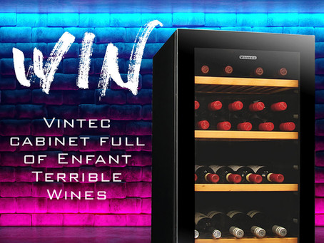 Win a 36 bottle Vintec Full of ET Wines.
