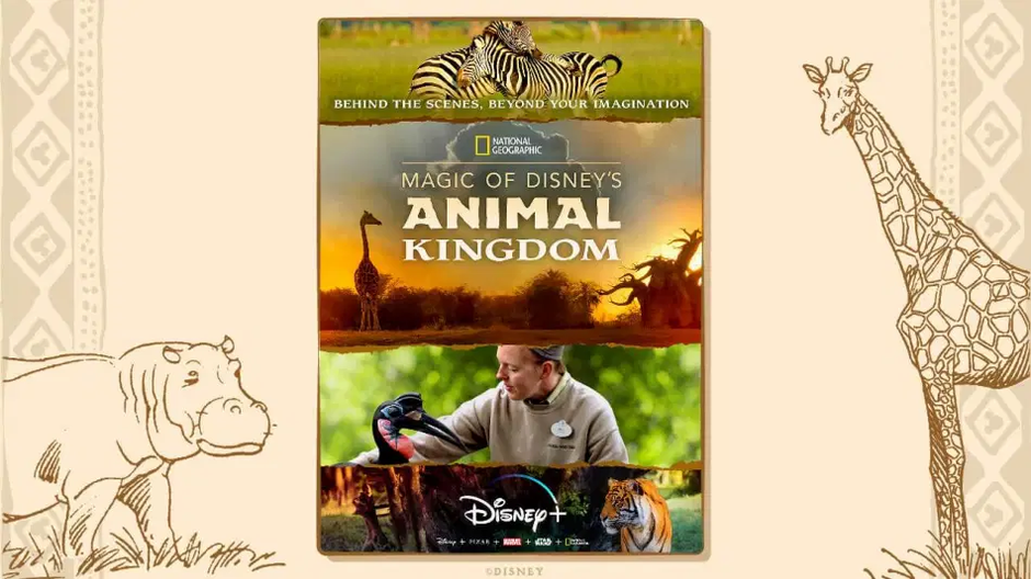 Disney Releases Trailer For Magic of Disney's Animal Kingdom Series On Disney+