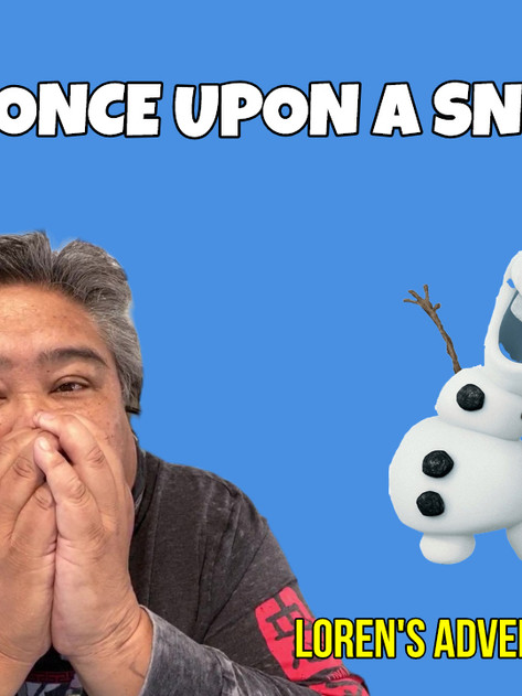REVIEW: Once Upon A Snowman