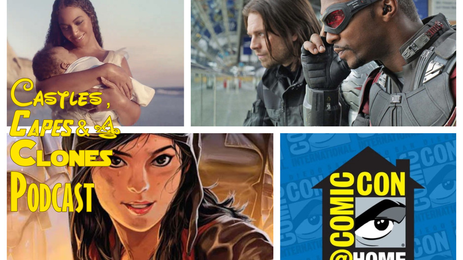 The CCC Podcast Episode #058 - Marvel Going Back Into Production and More!