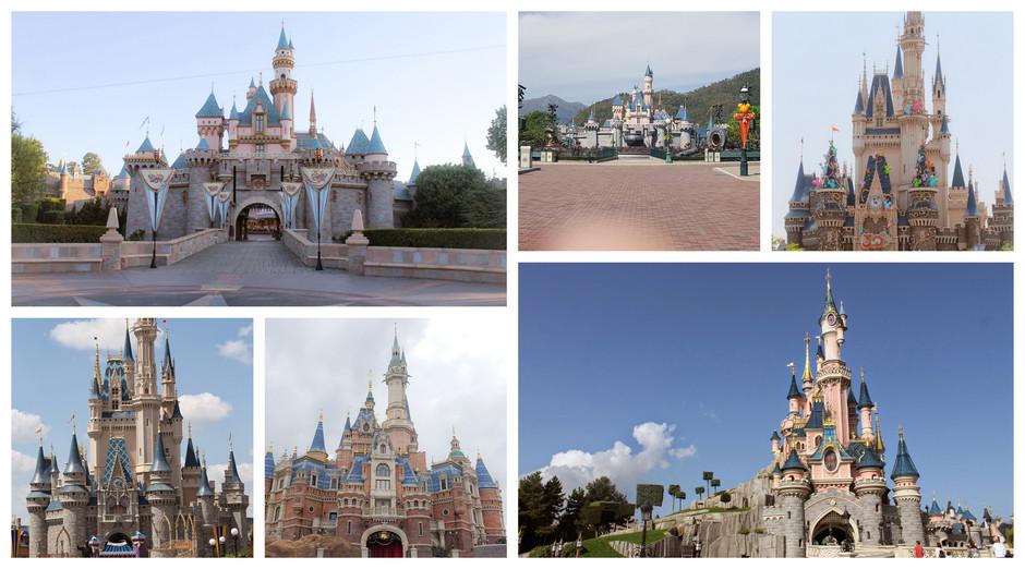 PICTORIAL: Disney Castles