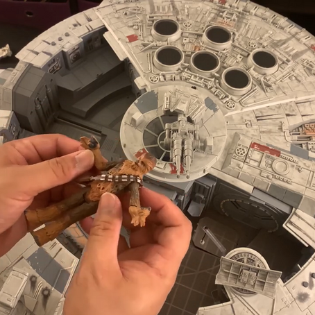 VIDEO: Unboxing The Star Wars Smuggler's Run Millennium Falcon
