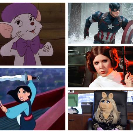 10 Favorite Disney Characters