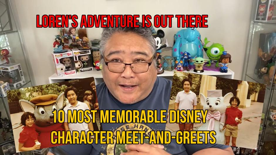 VLOG: 10 Most Memorable Disney Character Meet-And-Greets