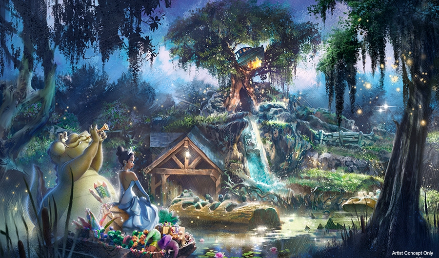 Thank Goodness For Changes; The Making Of A Princess And The Frog Attraction