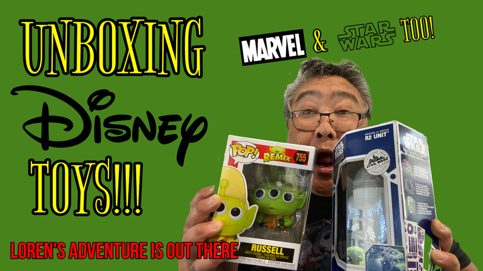 Unboxing Disney * Marvel * Star Wars Toys!