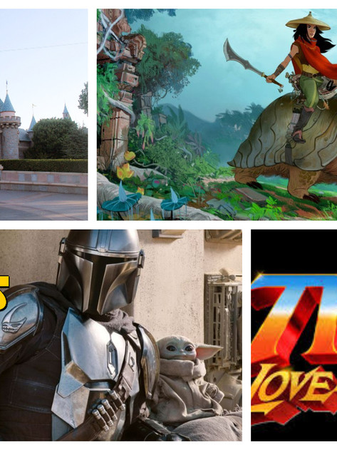 The CCC Podcast Episode #072 - Disneyland Still Closed, Raya, Mandalorian, Thor and More!