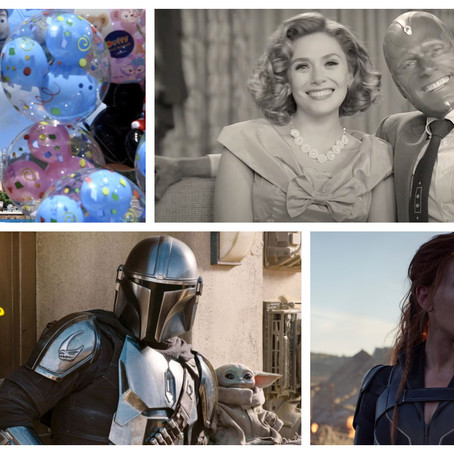 The CCC Podcast Episode #069 - Shuffling Movies, The Mandalorian, WandaVision and More!