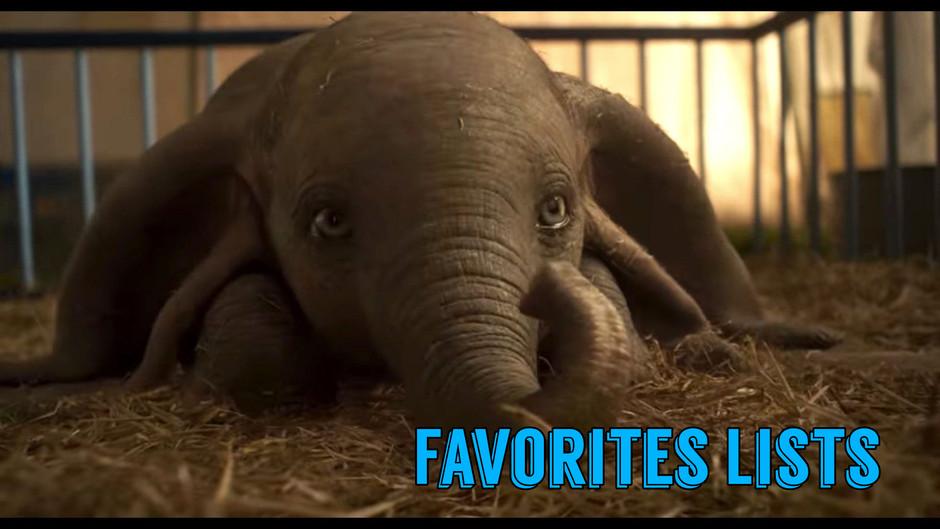 FAVORITES LISTS: Disney Elephants