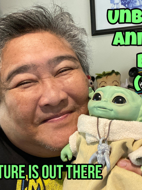 Unboxing The Animatronic Baby Yoda (The Child) from The Mandalorian