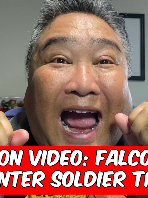 Reaction Video: FALCON AND THE WINTER SOLDIER Trailer
