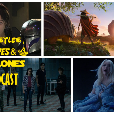 The CCC Podcast Episode #065 - Raya, Women and Star Wars, New Mutants and More