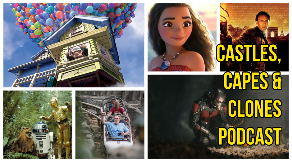 The CCC Podcast Episode #022 - Loren's & Rich's Go-To & Least-Watchable Disney Films
