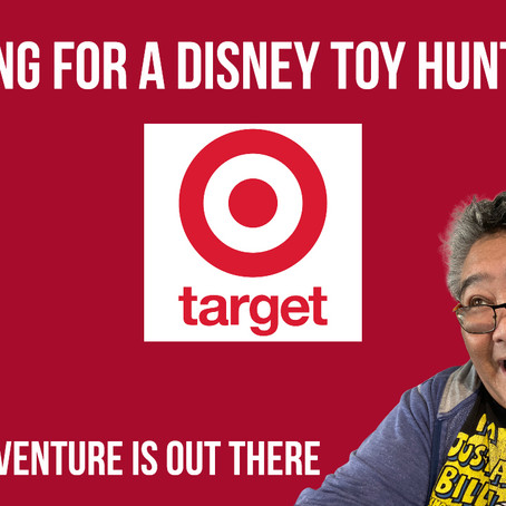 Going on a Disney Toy Hunt at Target - Loren's Adventure Is Out There Ep 013