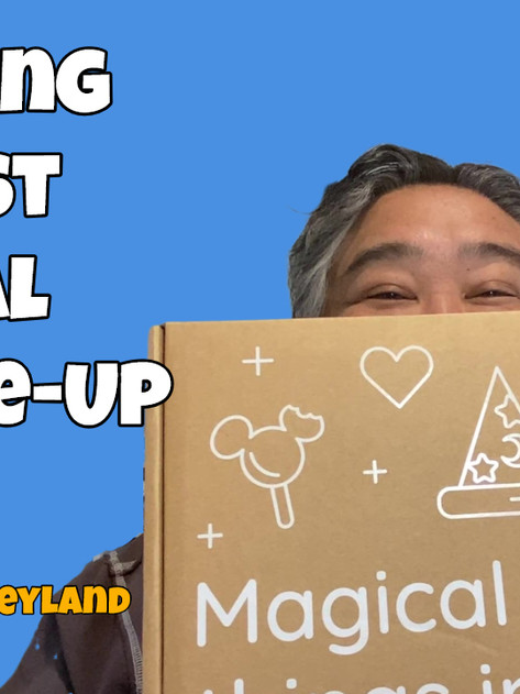 Unboxing my FIRST Magical Pick-Me-Up Box from HONG KONG DISNEYLAND!!!