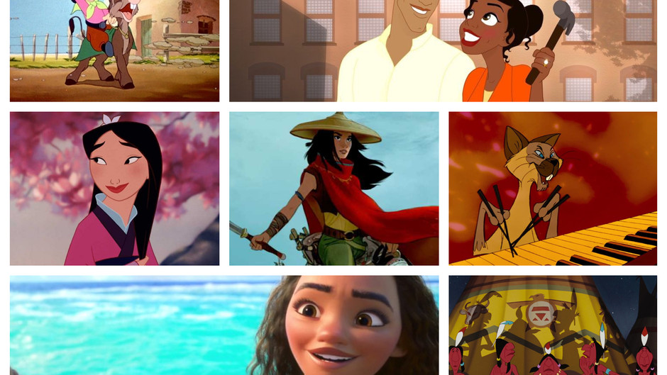 A Look At People Of Color In Disney Animated Films