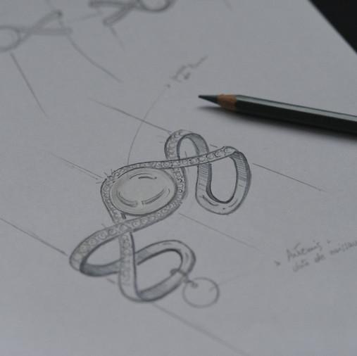Croquis de bracelet
