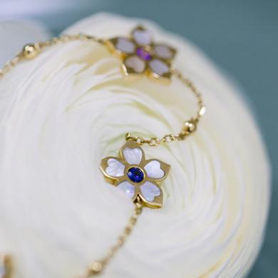 """*Bracelet Fleur de Vanille"""""""
