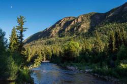 Rock Creek Canyon Bridge View