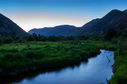Rock Creek Canyon at Twilight