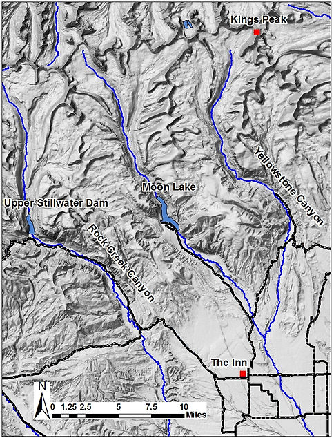 Uinta Mountain South Slope