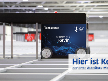 World premiere: AM Logistic Solutions to rent AutoStore-Robots