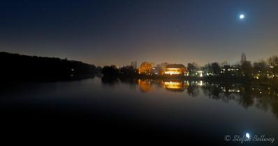 Blick von der Glienickerbrücke über die Havel